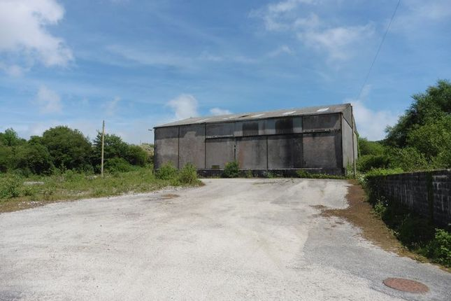 Thumbnail Commercial property for sale in Nanpean, St. Austell