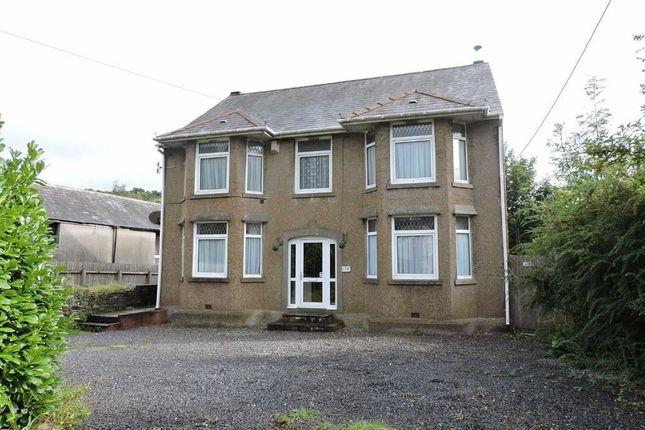 Thumbnail Detached house for sale in Ynysmeudwy Road, Pontardawe, Swansea