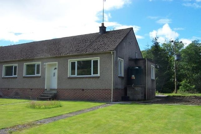 Thumbnail Semi-detached bungalow to rent in Balfron Station, Glasgow