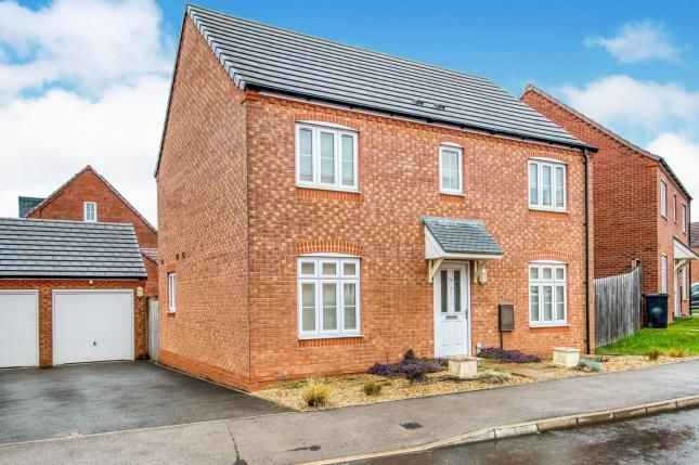 Thumbnail Detached house for sale in Wisteria Drive, Evesham, Worcestershire