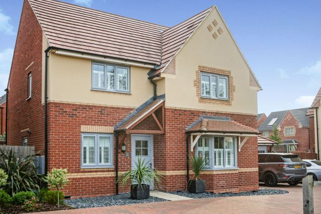 Thumbnail Detached house for sale in Kestrel Road, Corby