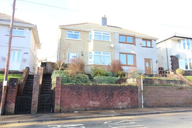 Thumbnail 4 bed semi-detached house for sale in Beaufort Road, Ebbw Vale, Blaenau Gwent.