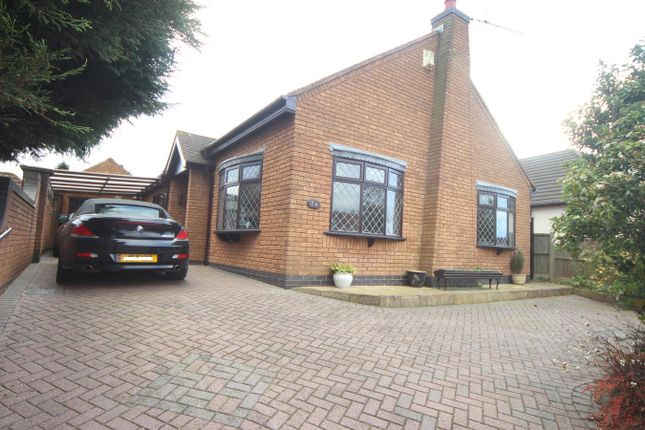 Thumbnail Detached house for sale in Applebee Road, Burbage, Hinckley