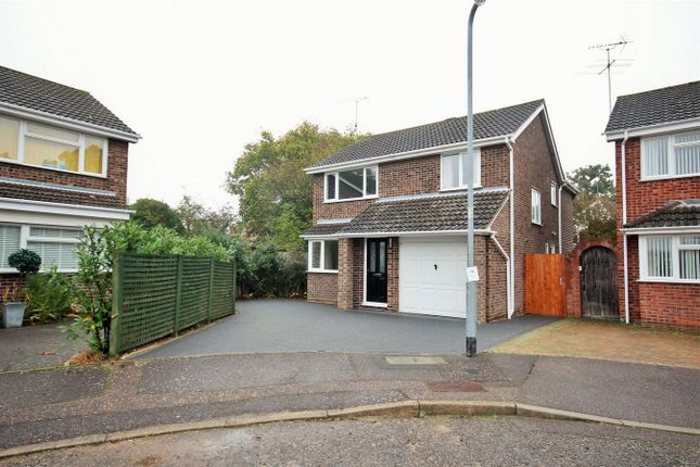 Thumbnail Detached house for sale in Byron Avenue, Poets Corner, Colchester, Essex