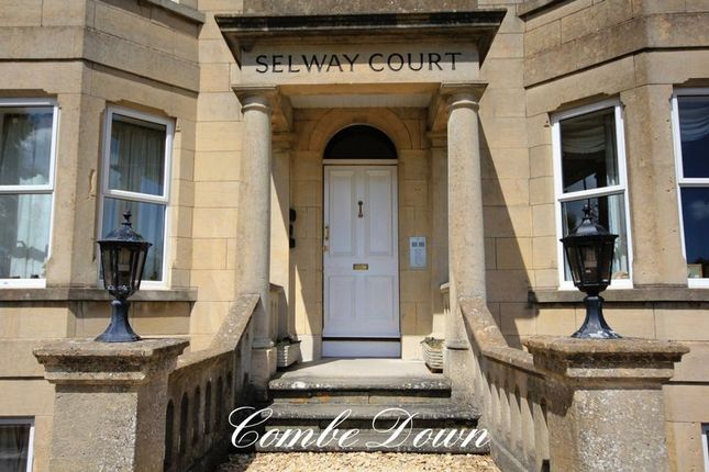 Thumbnail Flat to rent in North Road, Combe Down, Bath