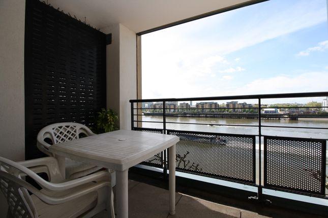 Balcony of Chart House, Burrells Wharf, Isle Of Dogs E14