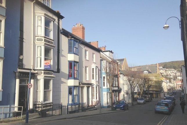 Thumbnail Terraced house for sale in Upper Portland Street, Aberystwyth, Ceredigion