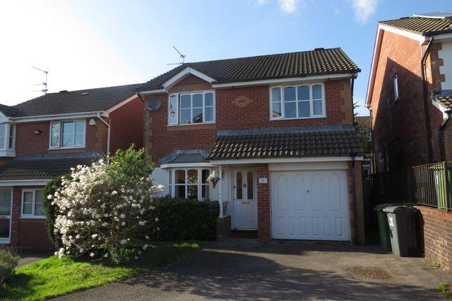 Thumbnail Detached house for sale in Clos Nant Mwlan, Pontprennau, Cardiff