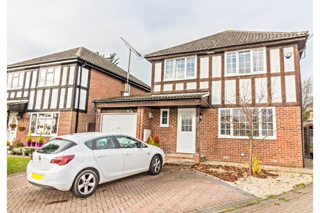 Thumbnail Detached house for sale in Melksham Close, Lower Earley, Reading