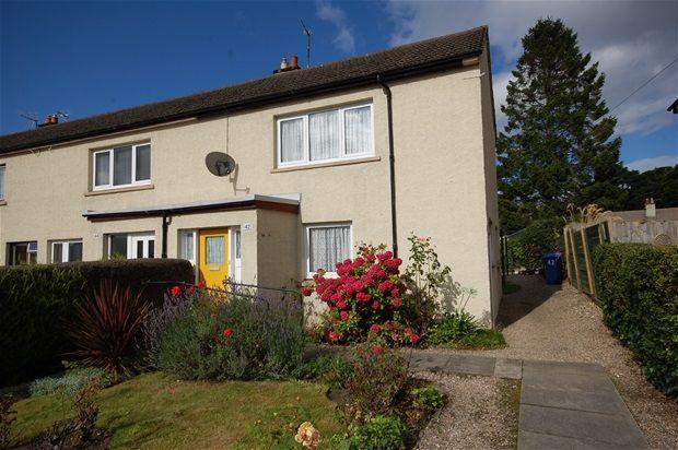 Thumbnail End terrace house for sale in Murrayfield, Fochabers, Fochabers