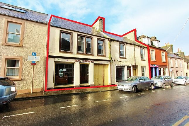 Thumbnail Terraced house for sale in 20 - 26 Queen Street, Stranraer