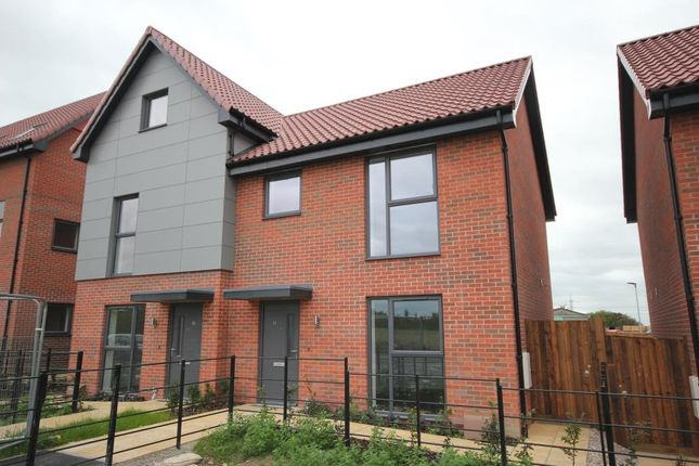 Thumbnail Semi-detached house for sale in The Shade, Soham, Ely