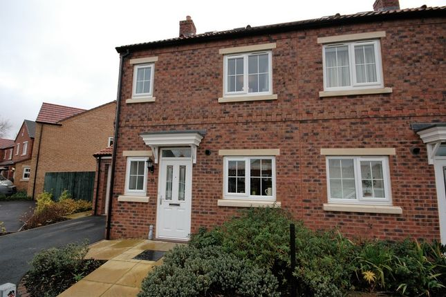 Thumbnail Semi-detached house for sale in Farm View, Malton, North Yorkshire