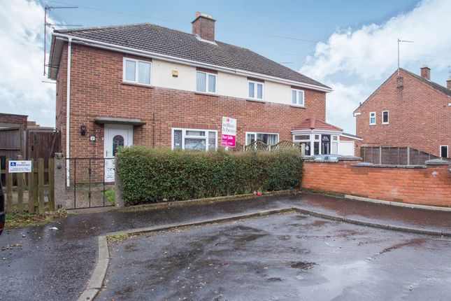 Thumbnail Semi-detached house for sale in Barnwell Road, Gaywood, King's Lynn