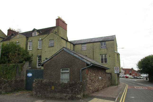 Thumbnail Block of flats for sale in Pen-Y-Pound Road, Abergavenny