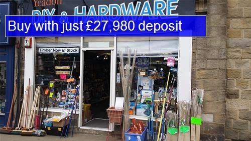 Thumbnail Retail premises for sale in LS19, Yeadon, West Yorkshire