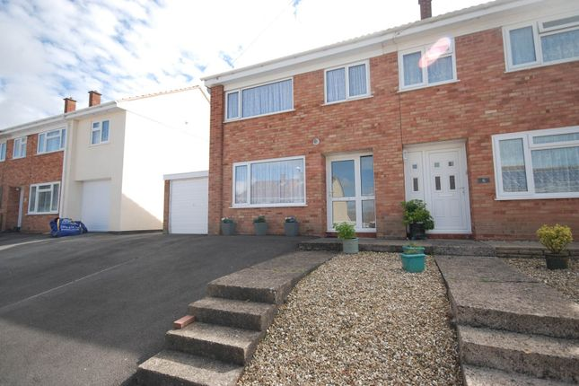 Thumbnail Semi-detached house for sale in Trent Close, Bideford