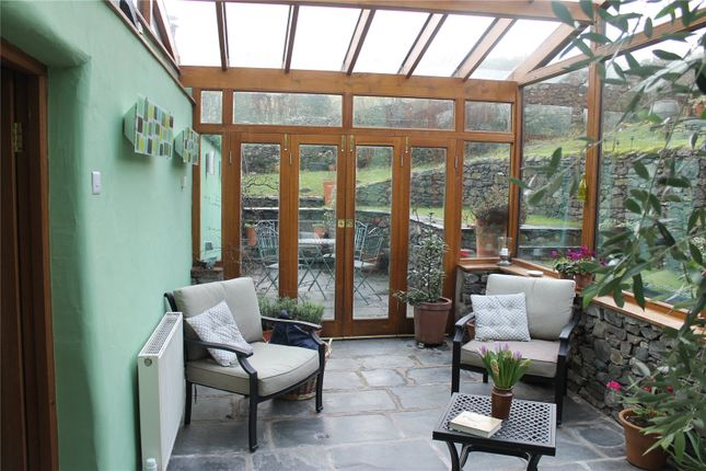 Conservatory of Howbarrow Farm, Cartmel, Grange-Over-Sands, Cumbria LA11