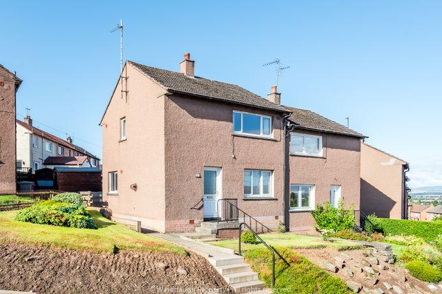 Thumbnail Semi-detached house for sale in Glenmoy Terrace, Forfar