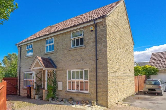 Thumbnail Detached house for sale in Amberley Close, Lansdowne Park, Calne