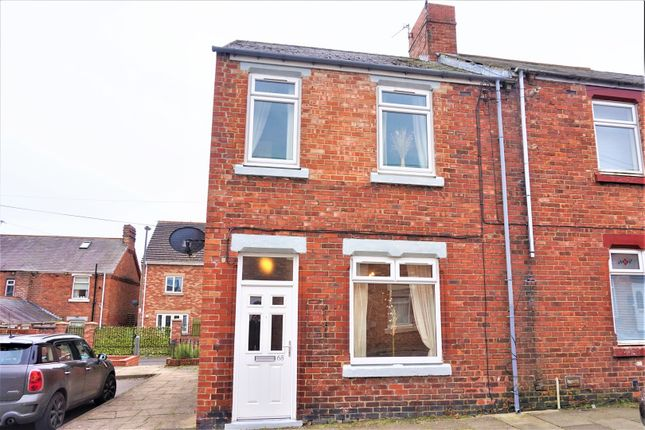 Thumbnail End terrace house for sale in Stephenson Street, Ferryhill