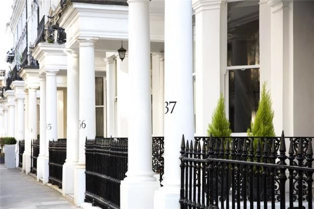 Thumbnail Flat for sale in 37 Beaufort Gardens, Knightsbridge, London