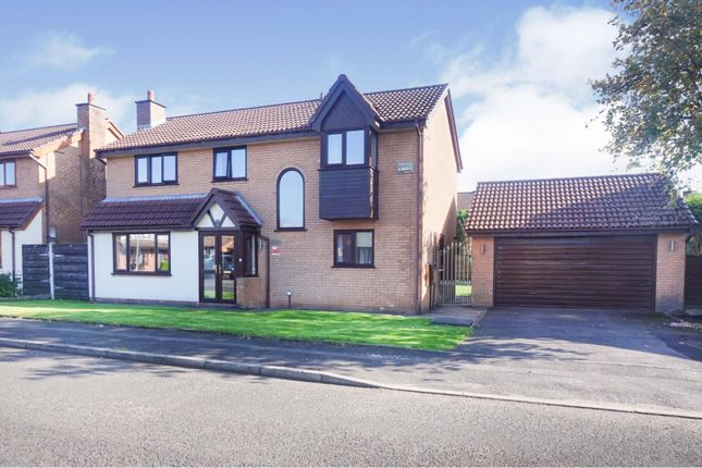 Thumbnail Detached house for sale in Saltram Close, Manchester