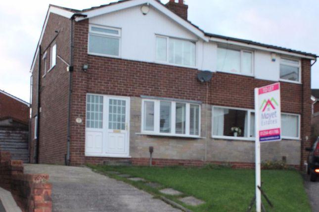 Thumbnail Semi-detached house to rent in Bradshaw Close, Blackburn
