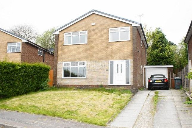 Thumbnail Detached house for sale in Heald Close, Rochdale, Greater Manchester.