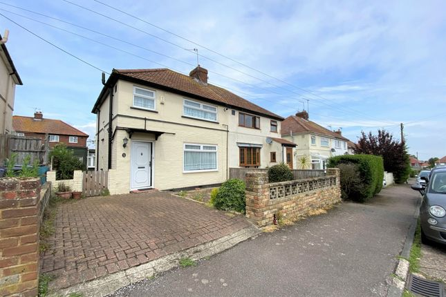 3 bed semi-detached house for sale in Halstatt Road, Deal CT14