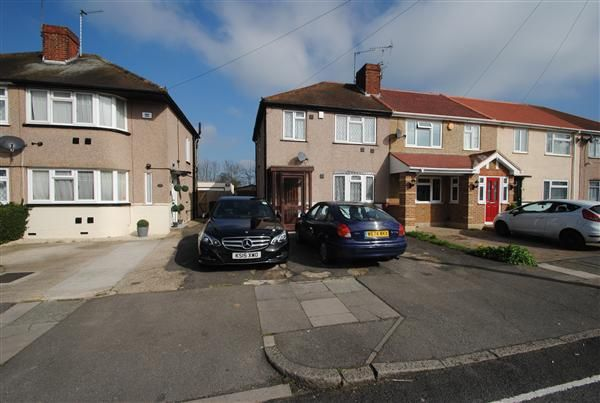 Thumbnail End terrace house for sale in Northumberland Crescent, Feltham