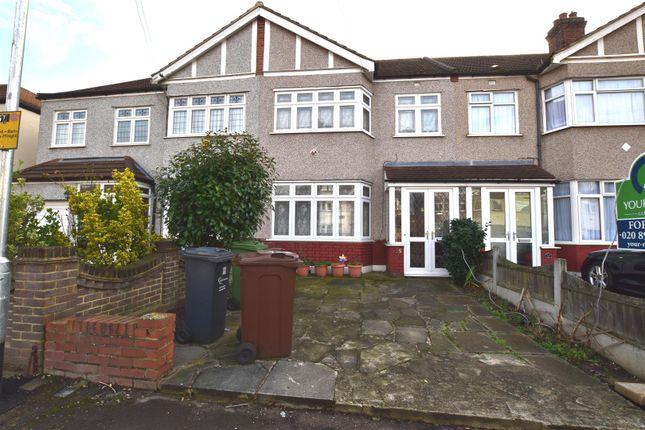 Thumbnail Terraced house for sale in Geneva Gardens, Chadwell Heath, Romford
