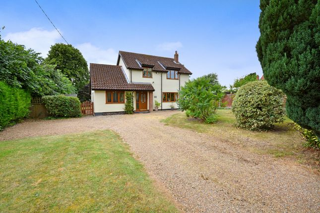 Thumbnail Detached house for sale in Rectory Road, Shelfanger, Diss