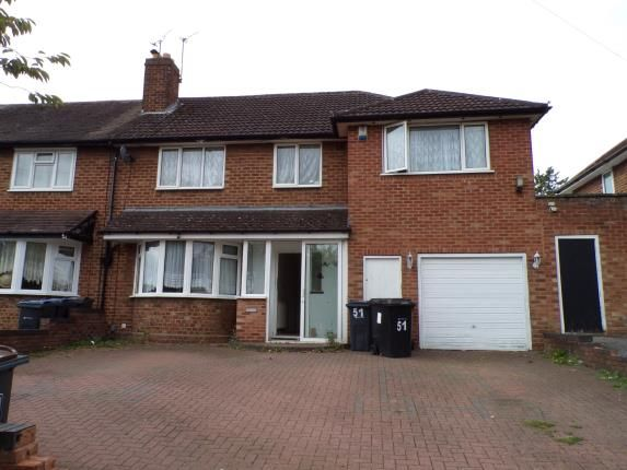 Thumbnail Semi-detached house for sale in Hollie Lucas Road, Kings Heath, Birmingham, West Midlands