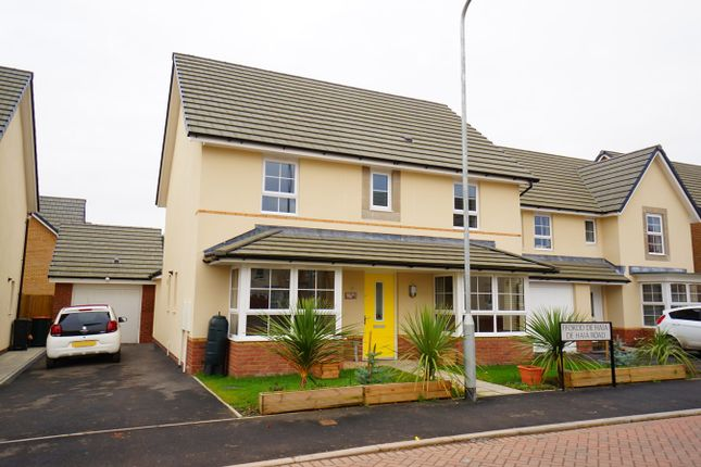 Thumbnail Detached house for sale in De Haia Road, Rogerstone, Newport