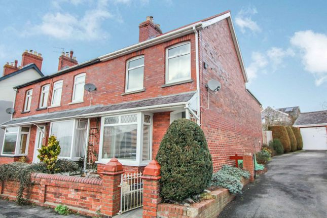 Thumbnail End terrace house for sale in Grosvenor Road, Abergavenny