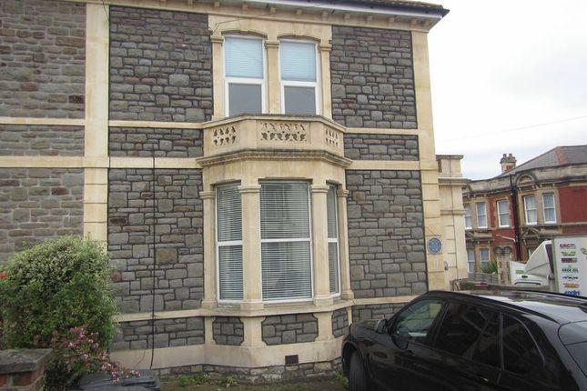 Thumbnail Flat to rent in Sommerville Road, Bishopston, Bristol