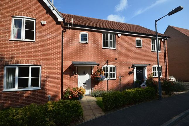 Thumbnail Town house for sale in Morris Drive, Little Plumstead, Norwich