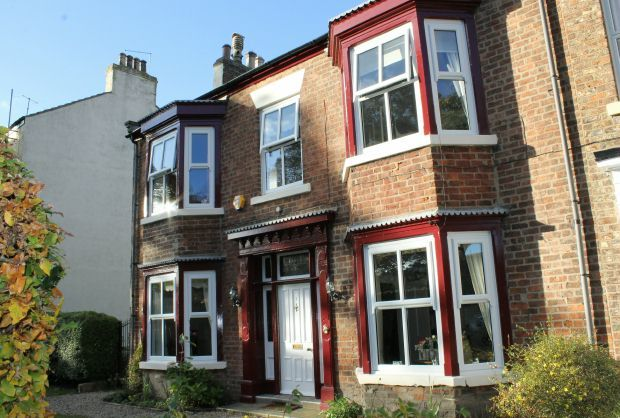 Thumbnail Terraced house for sale in The Red House, Albion Terrace, Guisborough