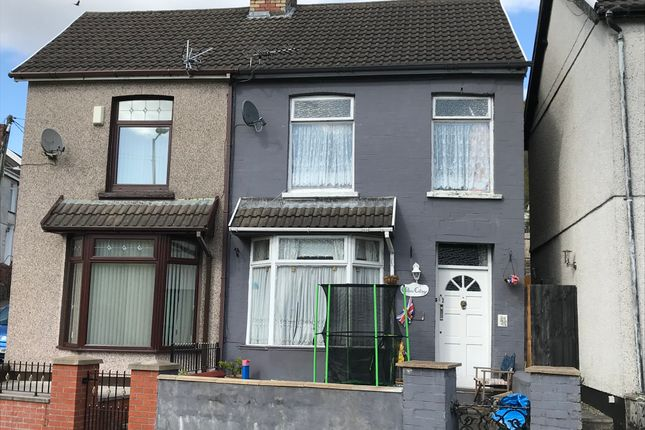 Thumbnail Semi-detached house for sale in Beech Grove, Troedyrhiw, Merthyr Tydfil