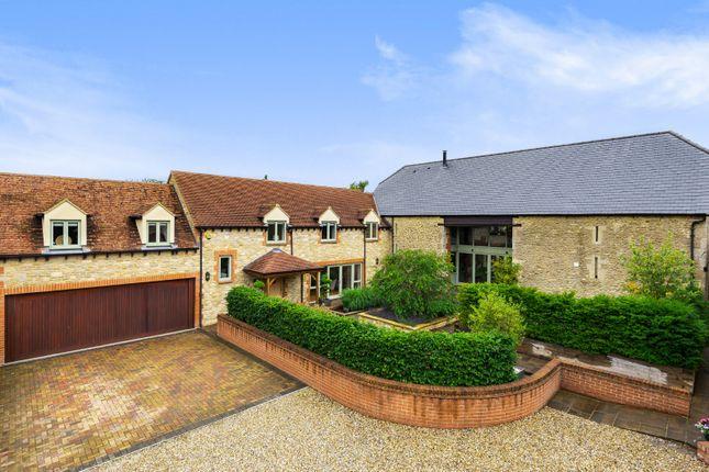Thumbnail Detached house for sale in Stanton Court, Trenchard Road, Stanton Fitzwarren, Wiltshire