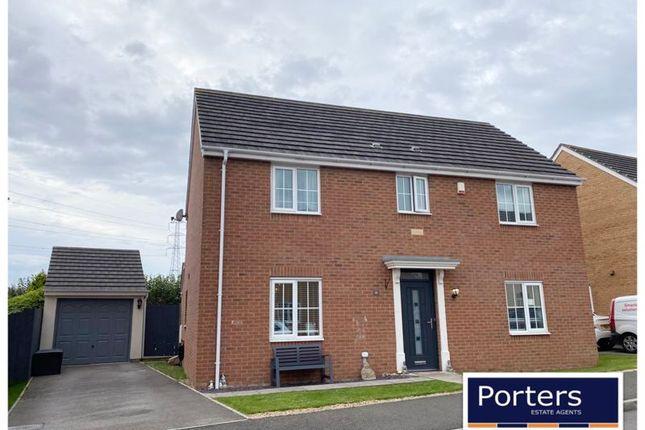 Thumbnail Detached house for sale in Heol Y Fronfraith Fawr, Laleston, Bridgend