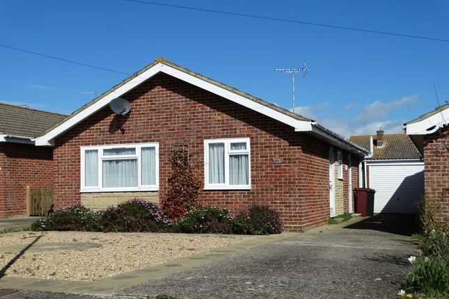 Thumbnail Detached bungalow for sale in Robins Close, Selsey, Chichester