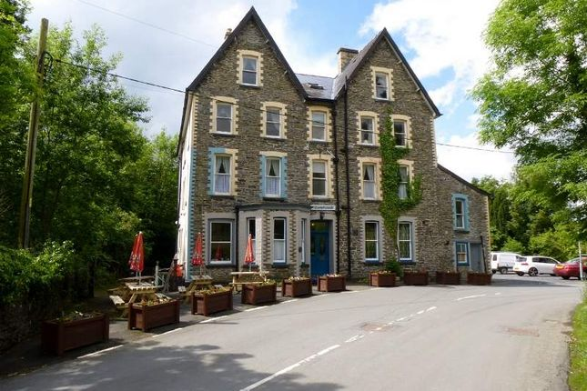 Thumbnail Hotel/guest house for sale in Llangammarch Wells