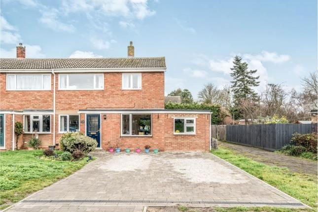 Thumbnail Semi-detached house for sale in Churchill Way, Sandy, Bedford, Bedfordshire