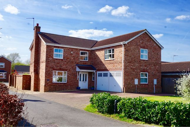Thumbnail Detached house for sale in The Rowans, Saxilby