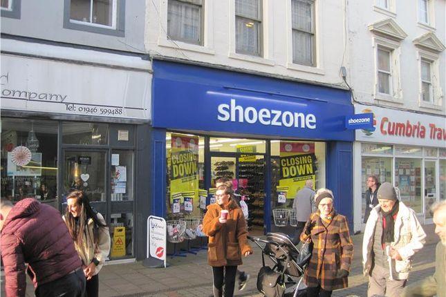 Thumbnail Retail premises to let in 68 King Street, Whitehaven, Cumbria