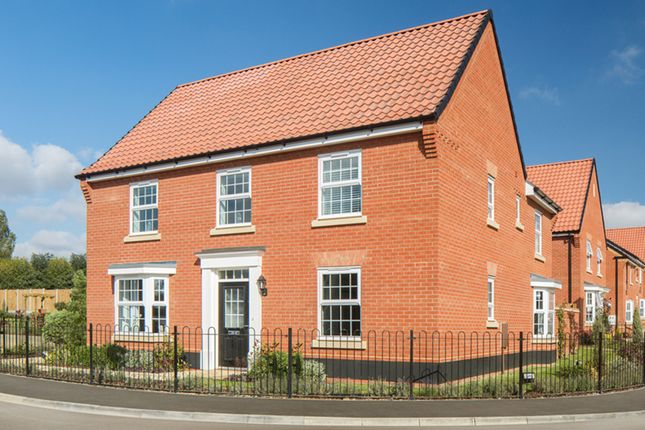 "Thumbnail Detached house for sale in ""Avondale"" at Reeds Lane, Banningham Road, Aylsham, Norwich"