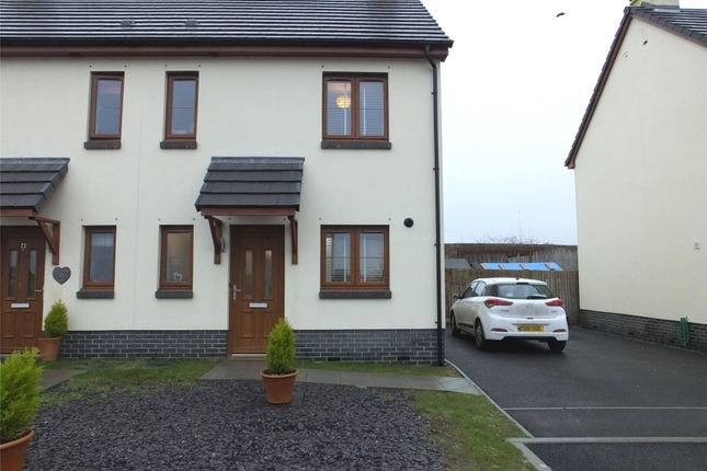 2 bed semi-detached house for sale in Newton Heights, Kilgetty, Pembrokeshire SA68