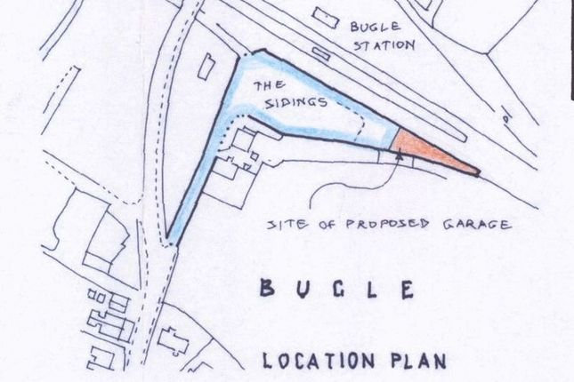 Land for sale in The Sidings, Bugle, St. Austell
